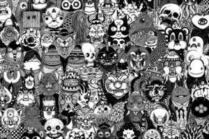 Gerald Leung Drawings Captures Destructive Metal Monsters