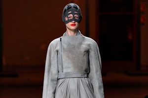The Rick Owens Fall 2012 Collection is Bold and Architectural