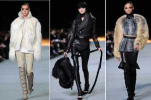 The Kanye West Fall 2012 Line Debuts at Paris Fashion Week