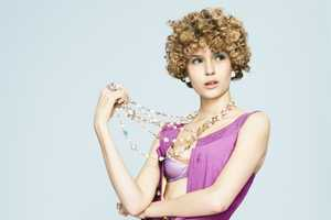 Josephine Skriver in Curly Cues for Mixte Paris Spring 2012