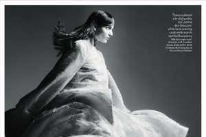 Zuzanna Bijoch Stars in an Editorial for Vogue UK March 2012