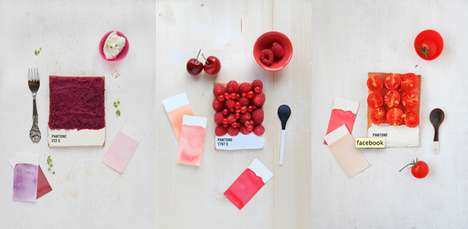 Pantone-Inspired Food Photos - Emilie Guelpa's Choose Your Color Series is Delicious