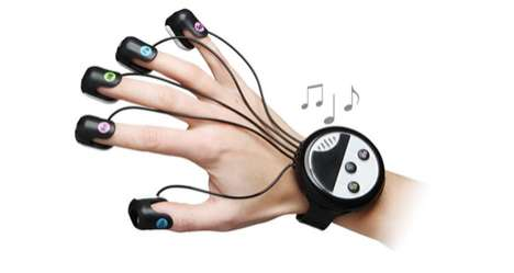 Japanese Wrist-Mounted Finger Piano