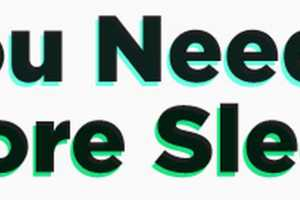 The 'You Need More Sleep' Infographic Urges People to Get Some Shut-Eye