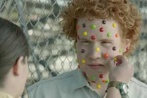 The Skittles 'Bleachers' Video Covers Subjects with Sweets