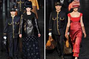 The Louis Vuitton Fall 2012 Show Boasts a Travel Theme