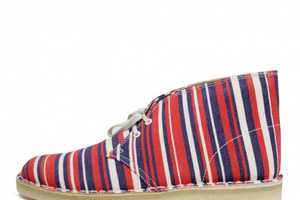 Clarks Desert Boots by Southsea Deckchairs Explode with Colors