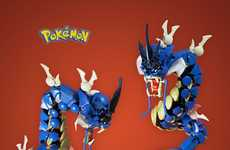 Toy Pocket Monster Models - Mike Nieves Crafts Pokemon Figurines Using LEGO Blocks