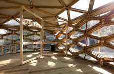 Beautiful Beehive Buildings - The Buzz Around the Recycled Pellet Pavilion by Avatar Architettura