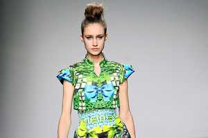 The Mary Katrantzou Fall/Winter 2012 Collection is Layered