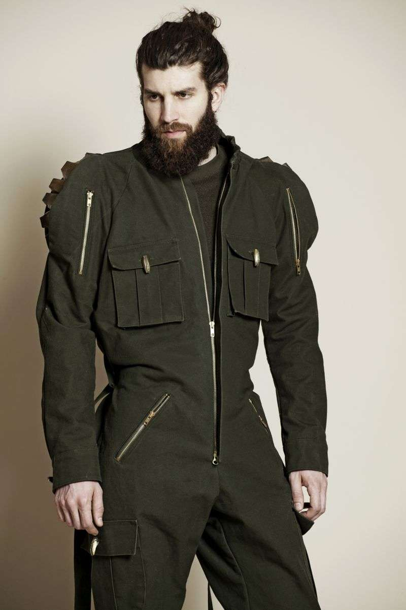 Futuristic Lumberjack Menswear