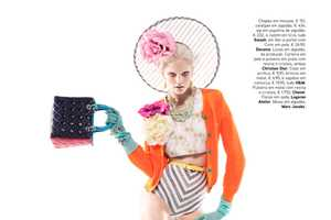 Dani Seitz is 'Candy Coloured' for Vogue Portugal April 2012