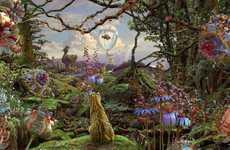Surreal Jungle Renderings