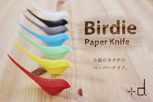 The 'Birdie' Paper Knife is an Adorable and Stylish Mail Opener