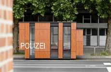 Compact Cop Stations - The Nordstadt Police Department is Dynamically Designed