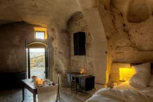 The Caves of Civita Hotel in Sextantio Italy Offers Primitive Luxury