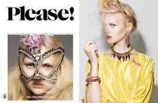 Eclectic Jewelry Editorials - The Please Magazine 'The Little Princess' Shoot is Eccentric