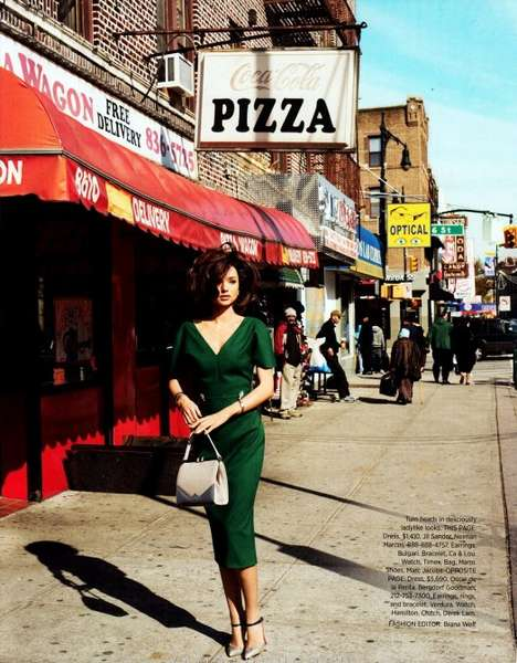 Harpers Bazaar April 2012