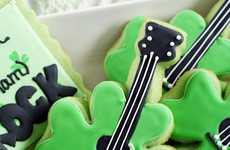 Lucky Sweet Axes - These ShamRock Cookies Will Hit All the Right Notes this St. Patty's Day
