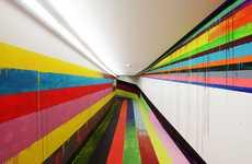 Rainbow Prison Corridors