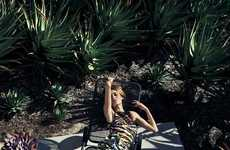 Exotic Backyard Editorials - The You Inspire March 2012 Shoot Stars a Languid Nicole Trunfio