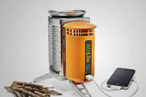 The Biolite Campstove and USB Charger is Smokin'