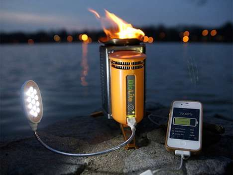 BioLite CampStove and USB charger