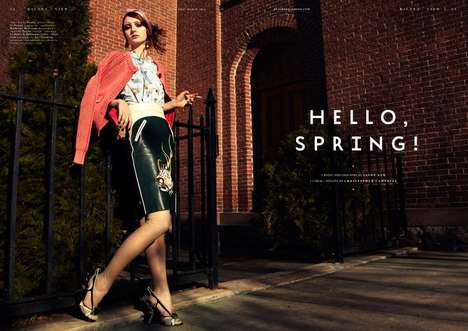 Playing Fashion Hello Spring