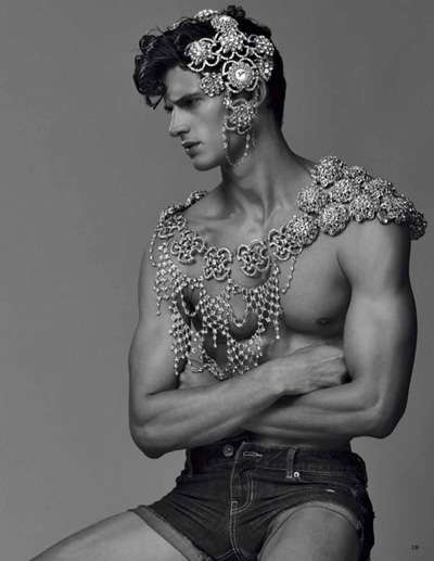 Garrett Neff Vogue Hommes Japan