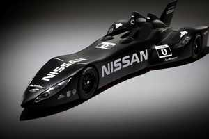 The Nissan DeltaWing is Sleek and Futuristic