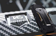 Car-Inspired Mobiles - The Tag Heuer Racer Speeds into the Cellphone Market