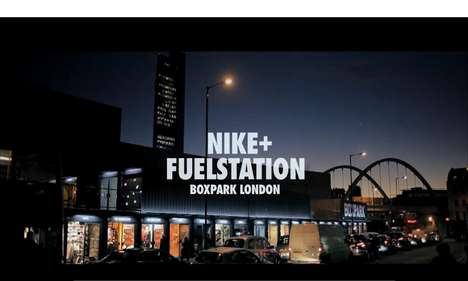 Pop-Up Shopping Pods - The Nike+ Fuelstations