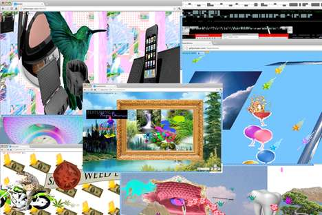 3D Social Networks - The 'Gifpumper' Website Embeds Online Content into Rotatable Environments