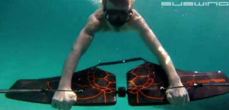 Underwater Towing Toys - The Subwing Lets You Fly Below the Surface
