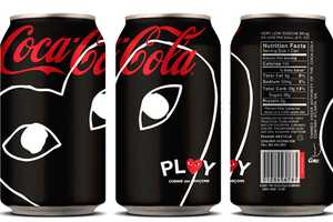 Coca-Cola x PLAY Comme Des Garcons Present a Bold Redesign