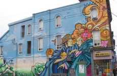 Color-Flooding Street Art