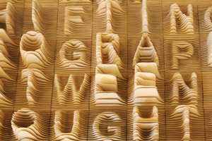 The Synoptic Office 'Alphabet Topography' Depicts Form Frequency