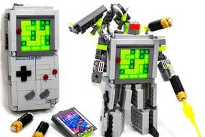 The Game Boy LEGO Transformer is Any Geek's Triple Threat Combo
