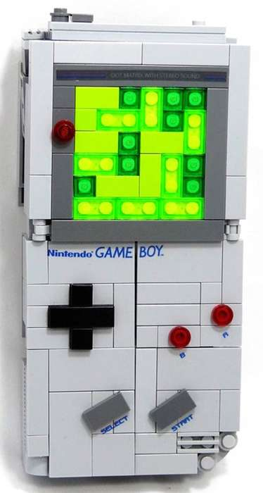 Game Boy LEGO Transformer