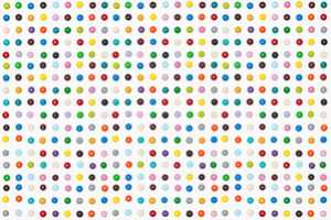 Henry Hargraves Recreats Damien Hirst's 'Spot' Paintings