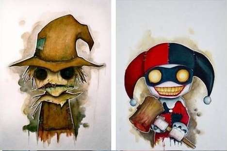 Creepy Comic-Book Caricatures 