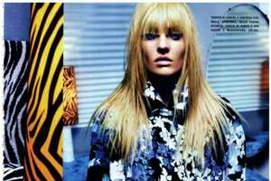 Candice Swanepoel Stars in a Glam Editorial for Vogue Italia March 2012