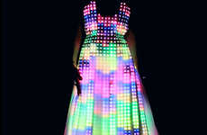 Glowing LED Gowns
