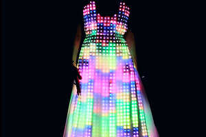 The Aurora Dress by CuteCircuit is for Classy Ravers