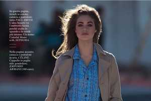Jessica Clarke Stars in a Fun Editorial for Glamour Italia March 2012