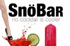 Alcoholic Frozen Treats - The SnoBar Cocktails are Liquored-Up Ice Cream and Popsicles