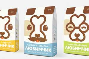 Darling Dog Food Packaging Combines Canine Icons for a Clever Image