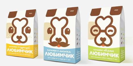 Darling Dog Food packaging