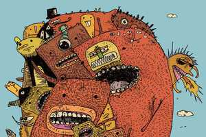 Murray Somerville Renders Surreal Fantasy Drawings