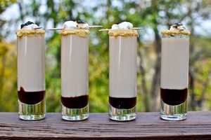 These Smoretini Shooters are a Boozy Take on the Old Favorite